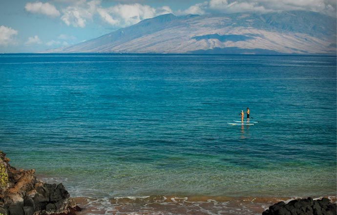 Sea activities at Four Seasons Maui