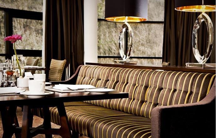 Lounge at Glasshouse Hotel