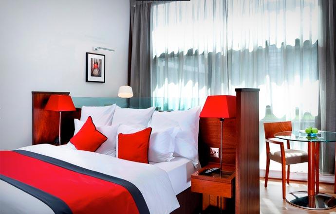 Room at Glasshouse Hotel in Edinburgh