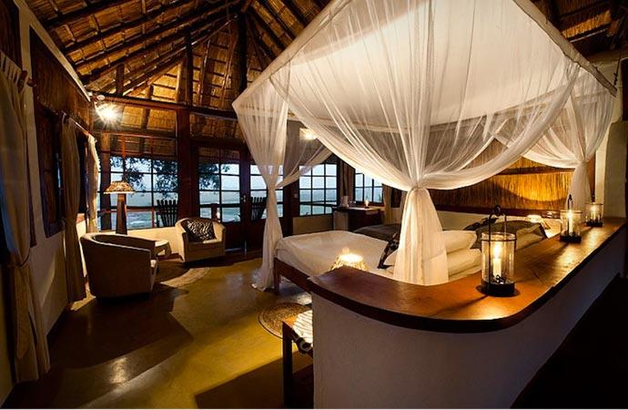 Room at Kafunta River Lodge