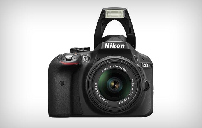 Nikon D3300 flash