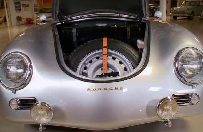 Trunk of the Porsche 356 Outlaw