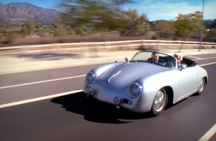 Porsche 356 Outlaw on Jay Leno Garage