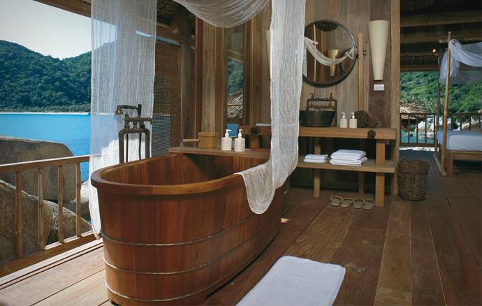 Room at the Six Senses Ninh Van Bay