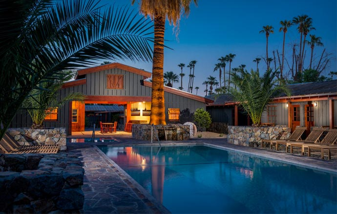 Sparrows Hotel in Palm Springs