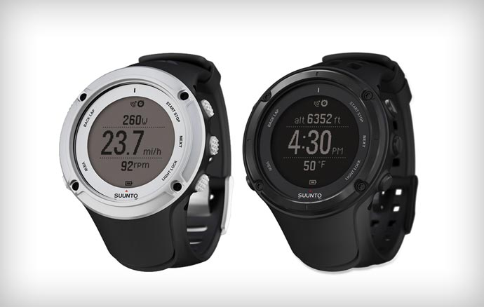 Suunto Ambit 2 black and silver