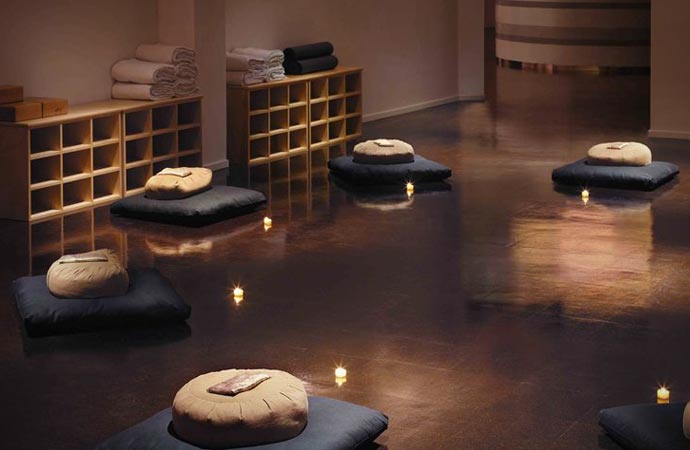 Yoga at The Standard Spa Hotel in Miami Beach