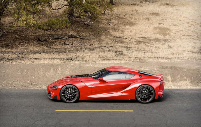 TOYOTA FT-1 Concept car side view
