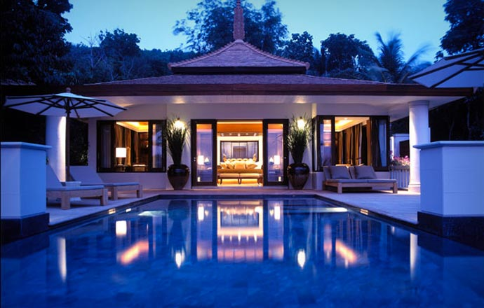 Accommodation at Trisara Resort in Phuket