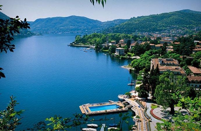Villa D'Este in Lake Como Italy