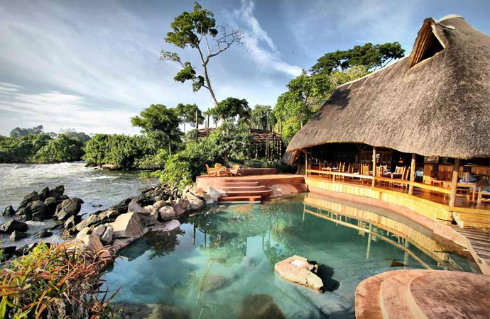 Wildwaters lodge uganda jebiga design lifestyle for Pool design manufaktur ug rottenburg