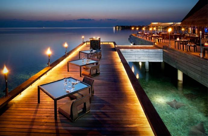 Restaurant at W Retreat & Spa Maldives