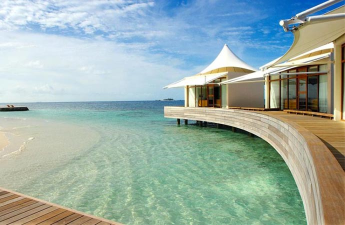 Water bungalow at W Retreat & Spa Maldives