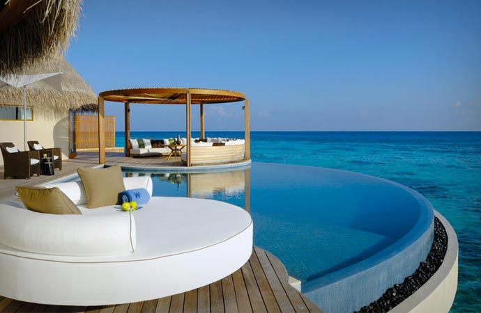 Pool at W Retreat & Spa Maldives