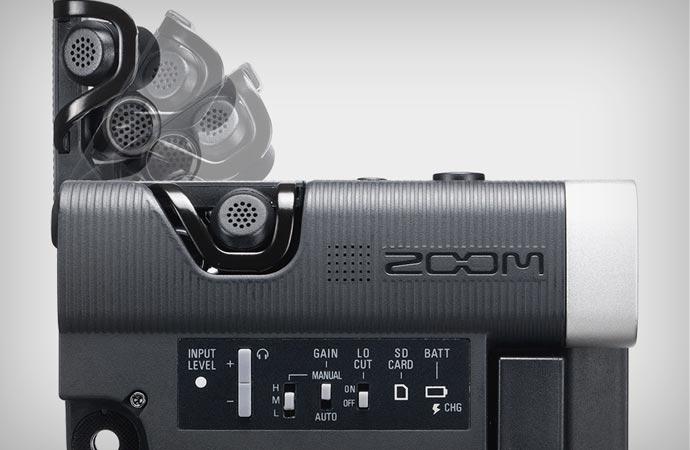 ZOOM Q4 microphone
