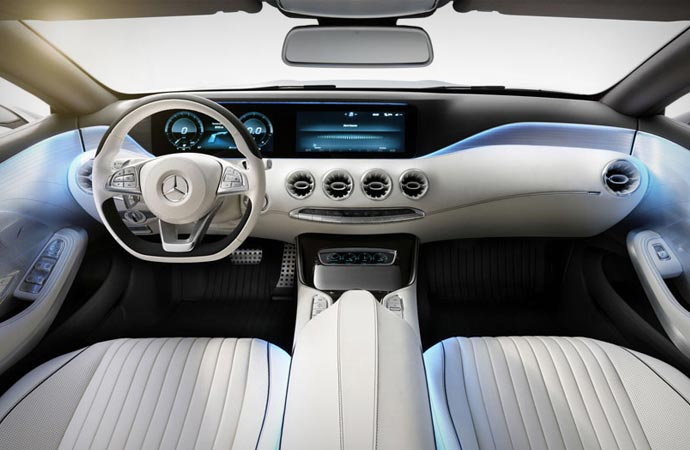 2015 S-Class coupe interior