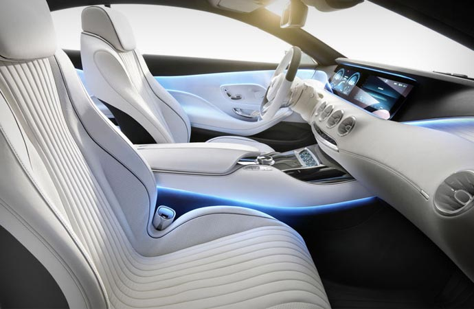 Inside the 2015 S-Class coupe