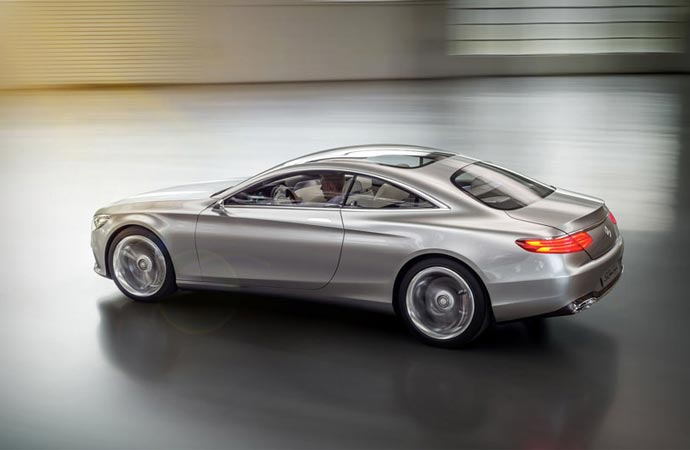 2015 Mercedes-Benz S-Class coupe body
