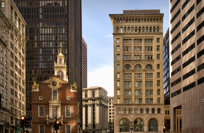 Ames building in Boston