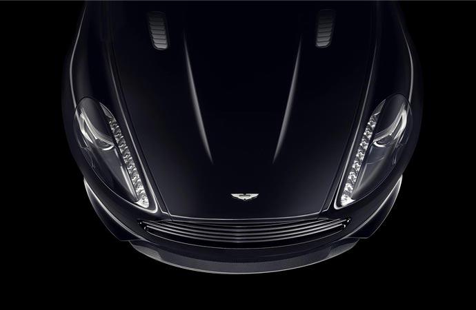 Aston Martin DB9 hood