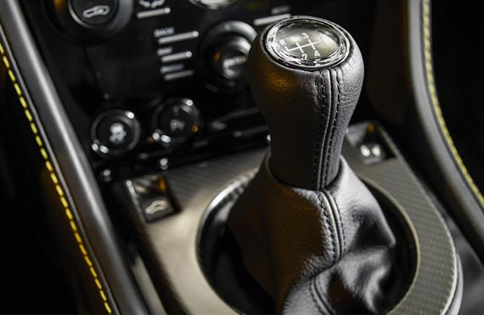 Aston Martin N430 transmission