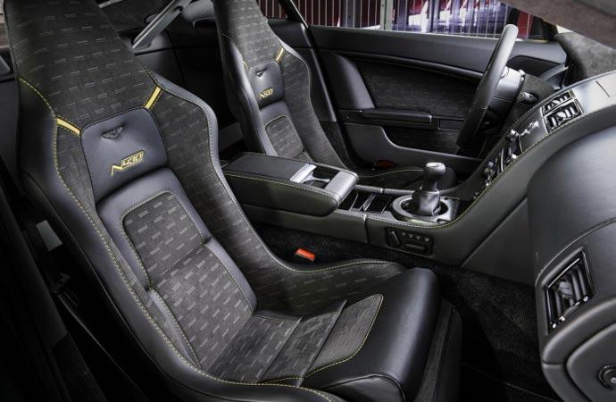 Aston Martin N430 interior