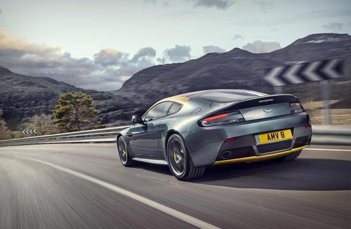 Aston Martin N430 rear