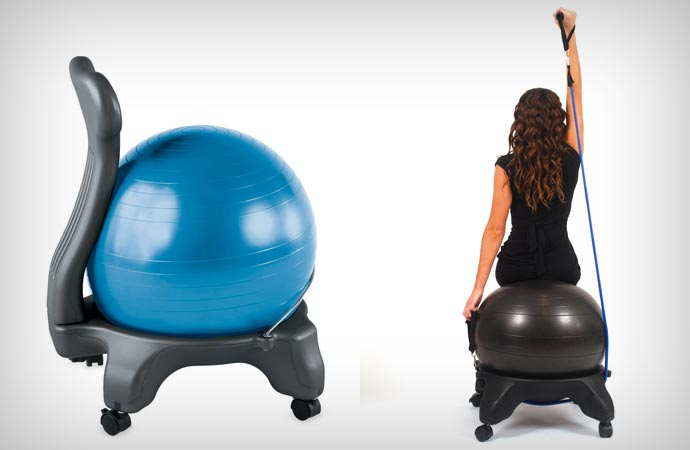 99 Yoga Ball Chair Base Balance Ball Chair Gaiam