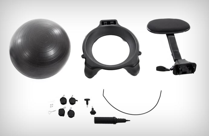 Gaiam Balance Ball Chair parts