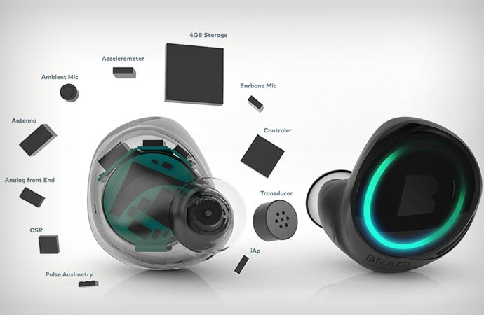 Dash smart headphone features and specifications