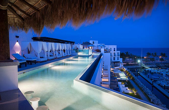 El ganzo Los Cabos swimming pool