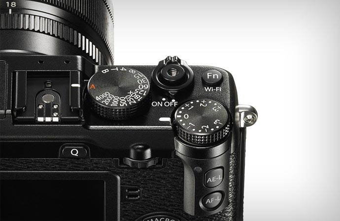Dials of the Fujifilm X-E2 Camera