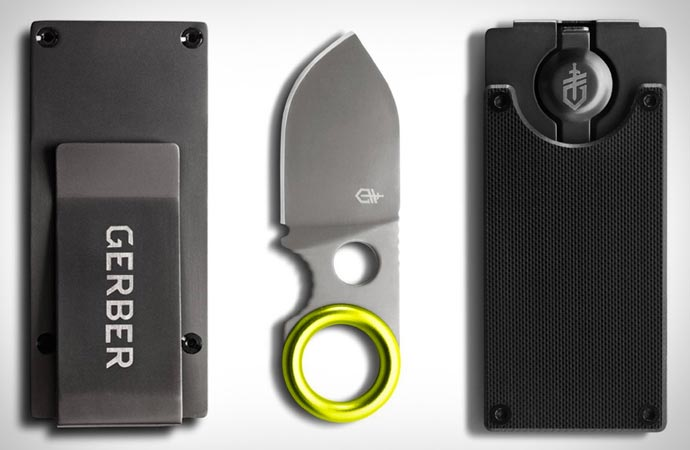Gerber blade money clip
