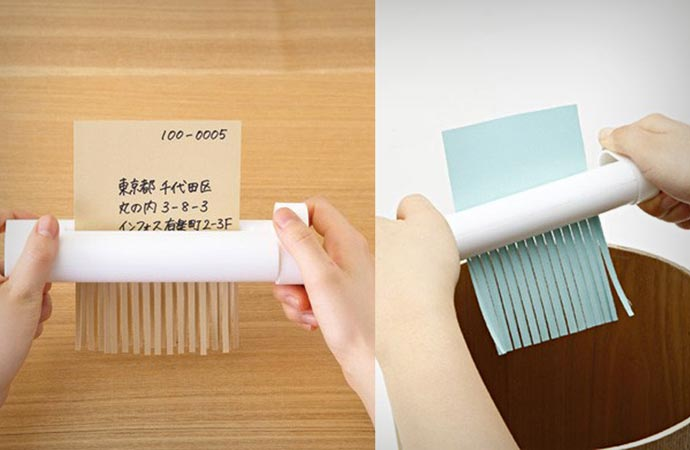 Handy Mechanical Shredder by Muji