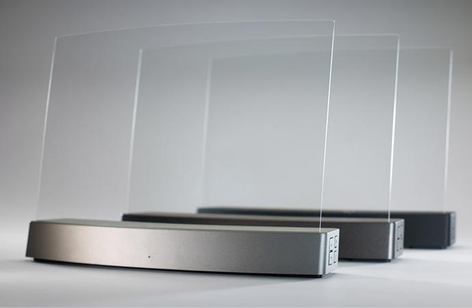 Invisible wireless speakers
