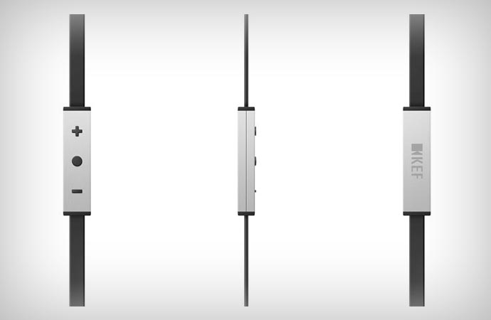 KEF M500 volume control