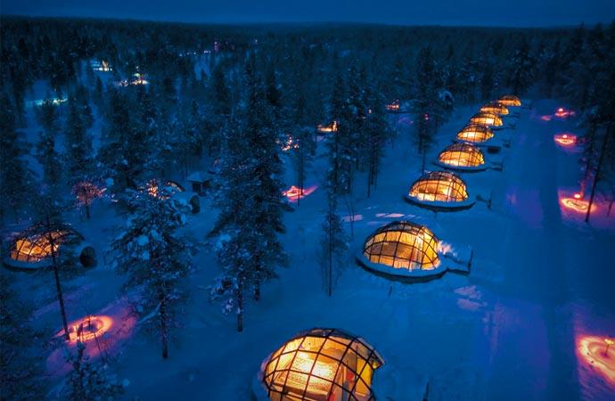 Kakslauttanen Igloo Village in Finland