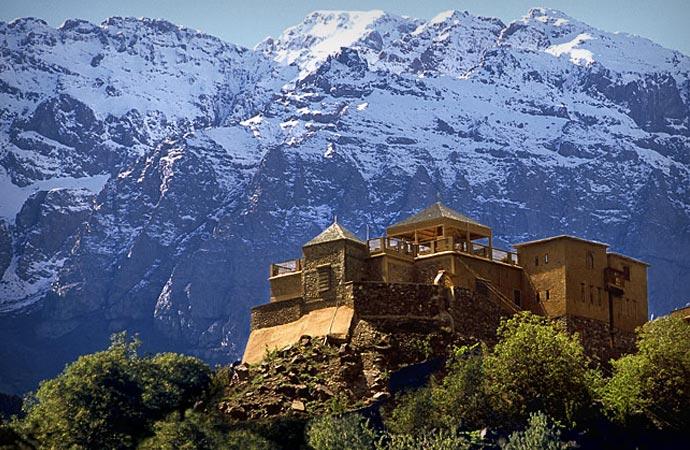 Kasbah du Toubkal in Morocco