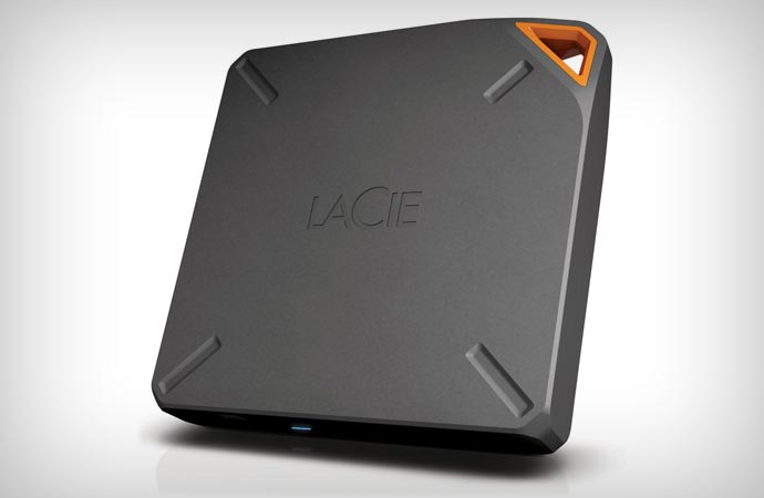 LaCie Fuel wireless storage