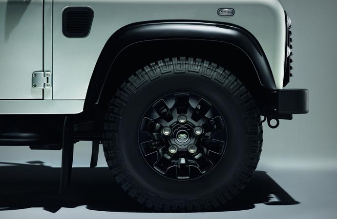 Land Rover Defender Silver Pack Wheel