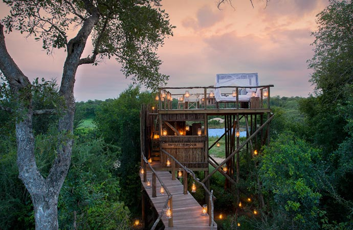 Treehouse at Lion Sands in South Africa