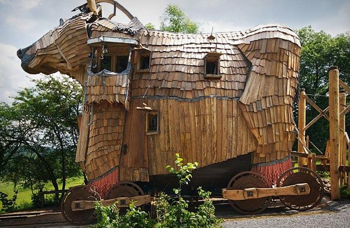 La Balade des Gnomes in Belgium