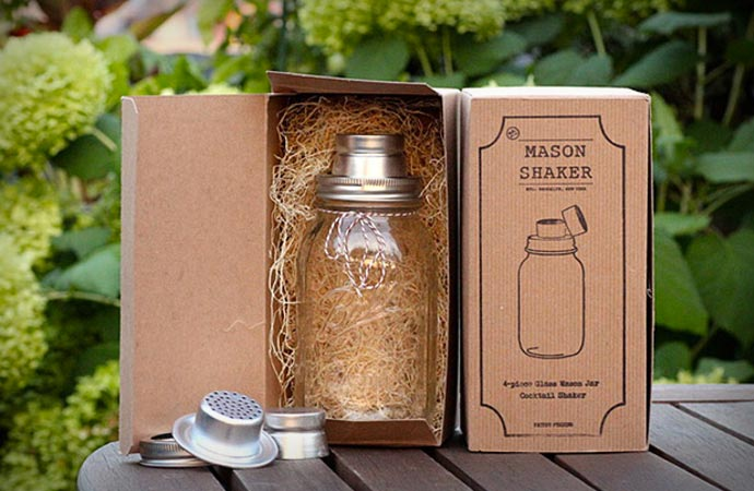 Mason Shaker a mason jar cocktail shaker