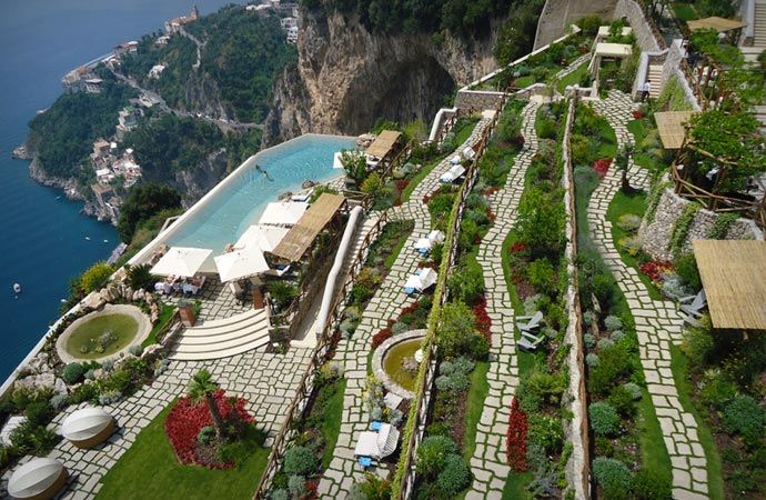 Monastero Santa Rosa at Amalfi Coast