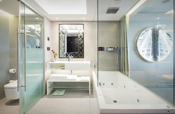 Room at the Myriad hotel in Lisbon
