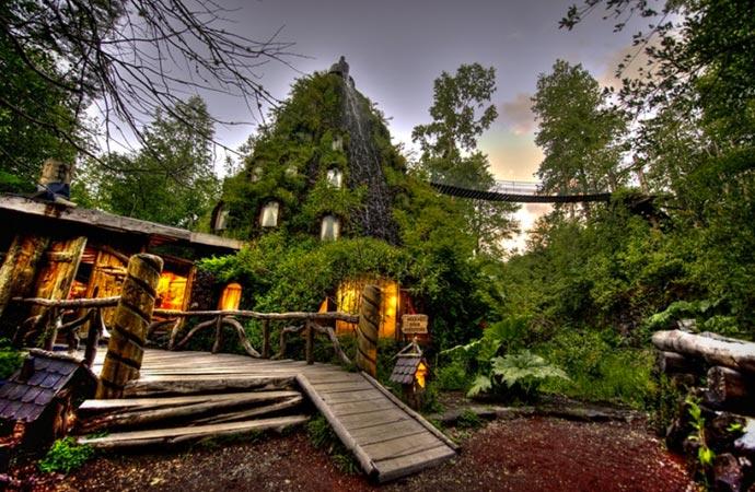 Magic Mountain Eco Resort in Chile