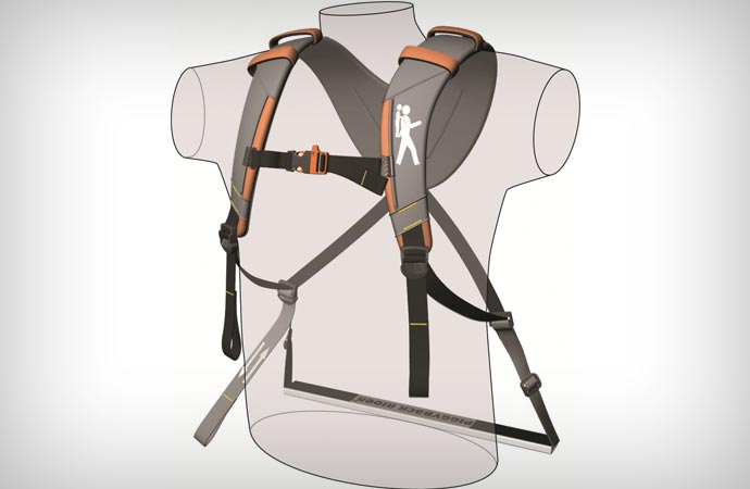 Piggyback Rider carrying system