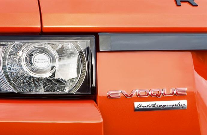 Range Rover light