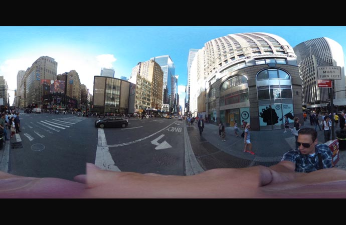 Ricoh THETA 360 degree picture