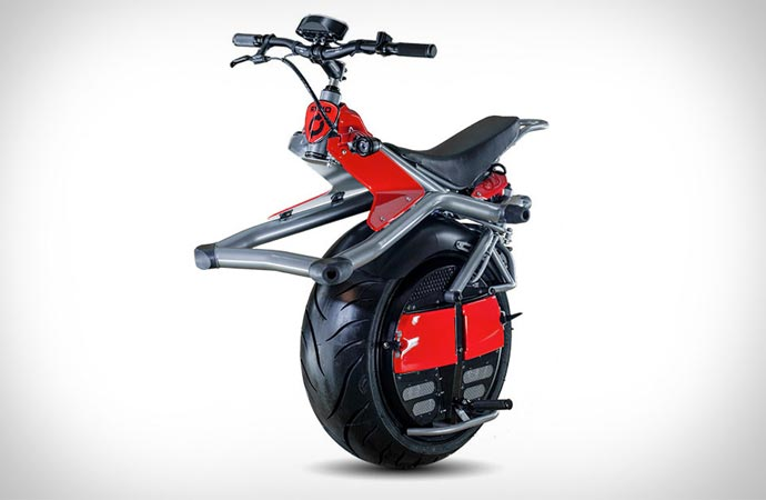 One Wheel Microcycle by Ryno Motors